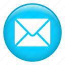 close envelope, email, envelope, letter, mail, message icon