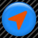 cursor, navigation arrow, navigation, pointer, compass
