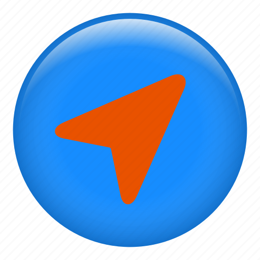 compass, cursor, navigation, navigation arrow, pointer icon