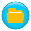 archive, document, documents, file, folder, office material icon