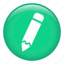 creative, design, draw, edit, edition, pencil, pencils icon