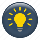 bright, bulb, fluorescent, heatidea, lamp, light bulbs, lightbulb icon