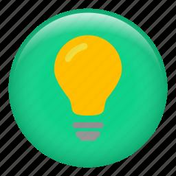 bright, bulb, fluorescent, heatidea, lamp, light bulbs, lightbulb icon