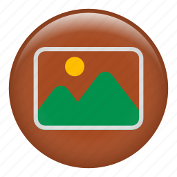 image, mountains, nature, photo, photography, picture icon