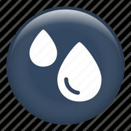drop, paint drop, rain, rain drop, sprinkle, water, water drop icon