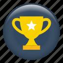 trophy, winner, trophy cup, prize, award, champion, achievement