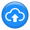 cloud computing, uploading, upload cloud, up arrow, cloud storage, data storage