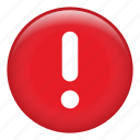 caution, danger, exclamation, precaution, prevent, risk, warning icon