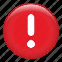 exclamation, prevent, risk, danger, warning, caution, precaution