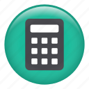 calculate, calculating, calculation, calculator, division, plus icon