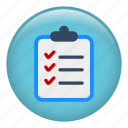 checked list, checklist, completed, jobs, list, menu icon