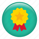 achievement, award, medal, prize, ribbon, trophy, winner icon