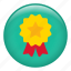 achievement, award, medal, prize, ribbon, trophy, winner icon