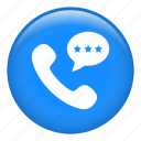 call, calling, communication, phone, speech, telephone icon