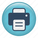 copier, duplicate, fax, output, photocopier, producer, scanner icon