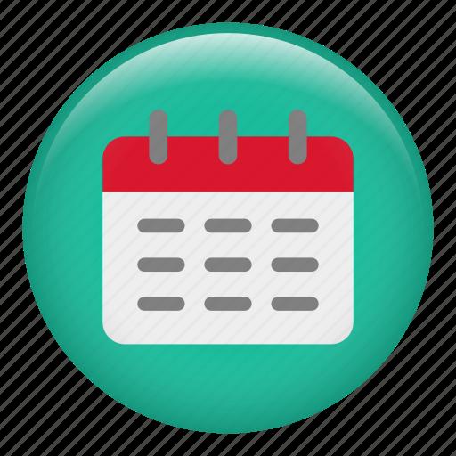 administration, calendar, calendars, date, organizat, schedule icon