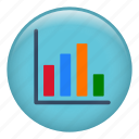 ascendant, bars chart, camparison, define, graph, measure, stats icon