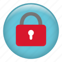 lock, locked, padlock, password, protect, protection, secure icon