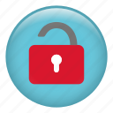 locked, padlock, password, protection, secure, security icon