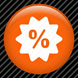 discount, label, percentage, price, sale, sticker, tag icon