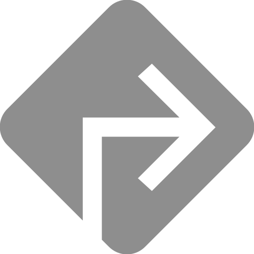 arrow, directions, drive, sign icon