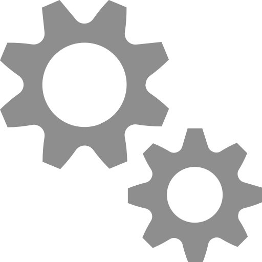 cogs, gears, machine, preferences, settings icon