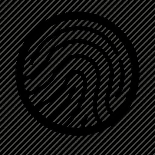 finger, finger print, fingerprint, ios, security, track, web icon