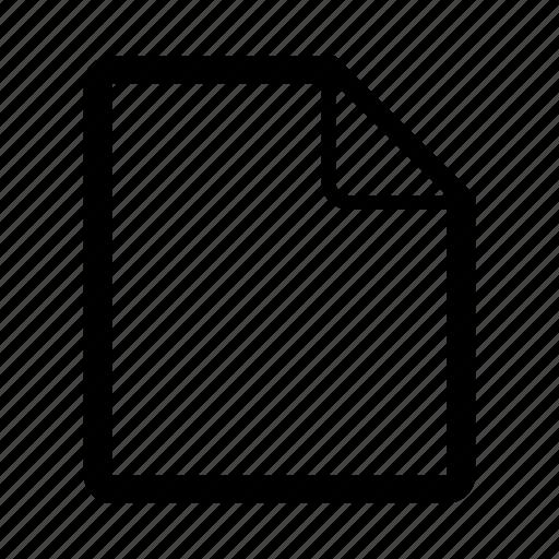 create, edit, empty, file, ios, new, new file icon