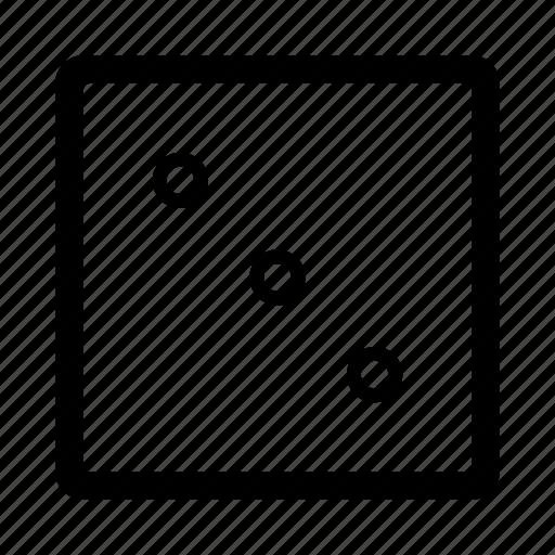 dice, game, ios, lucky, random, three, web icon