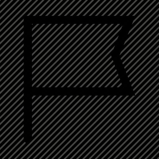 banner, flag, ios, marker, pin, start, web icon