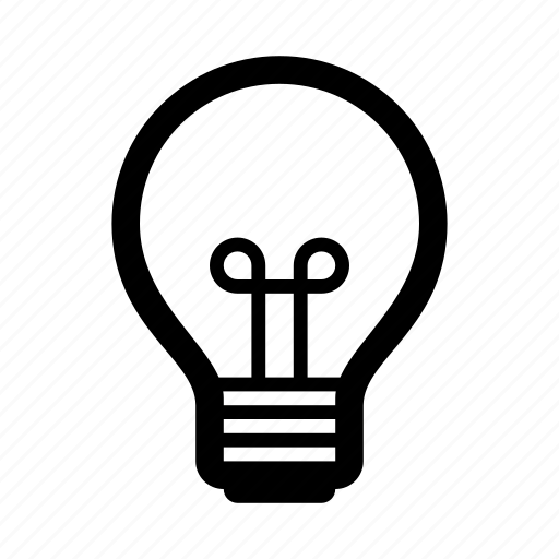 electricity, idea, ios, lamp, light, light bulb, thinking icon