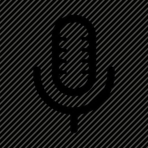 ios, mic, microphone, record, speak, speech, web icon