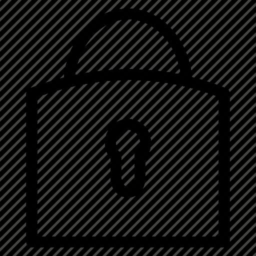 app, imternet, interface, lock, user, web icon icon