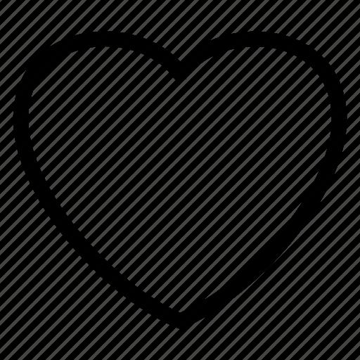 app, heart, interface, love, mobile, user, web icon icon