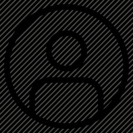 admin, app, interfce, internet, profile, user, web icon icon