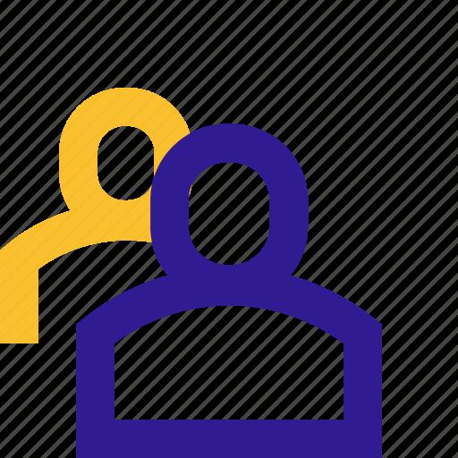 avatar, basic, line, people, ui icon