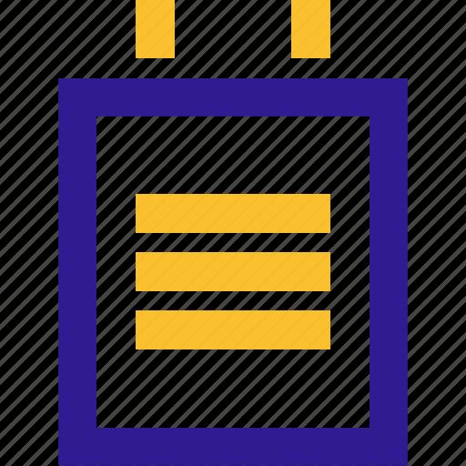 basic, calendar, line, note, ui icon