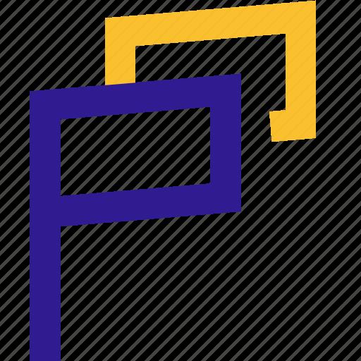 basic, campaign, flag, line, ui icon