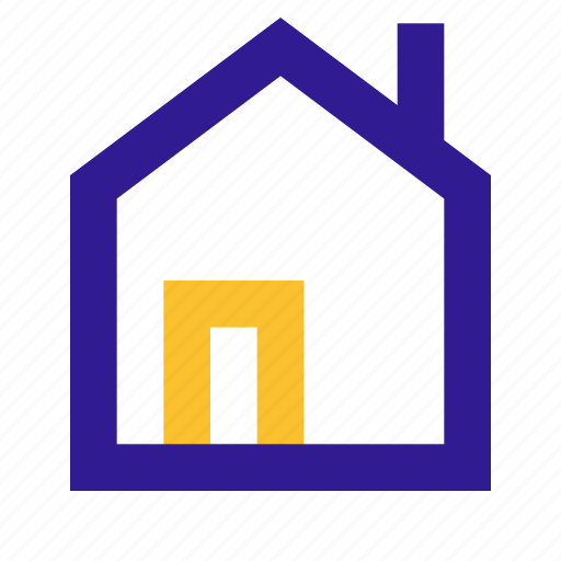 basic, home, line, ui icon