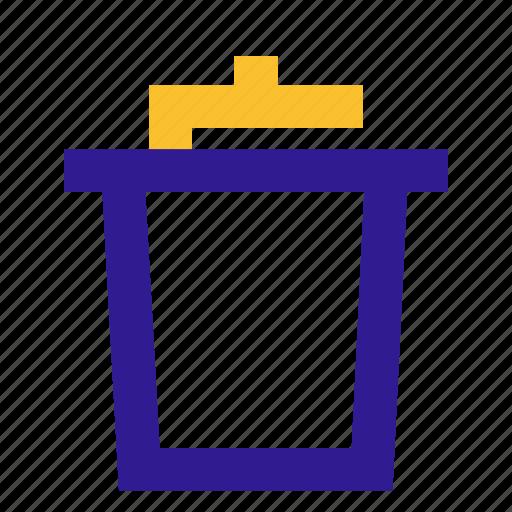 basic, line, trash, ui icon