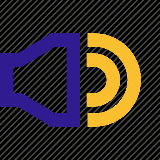 basic, line, ui, volume icon