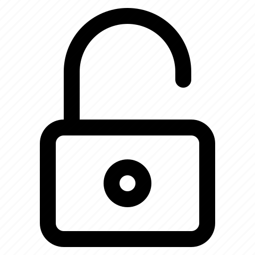 app, interface, internet, unlock, user, web icon