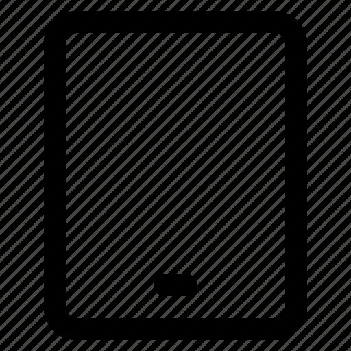 app, interface, internet, tablet, user, web icon