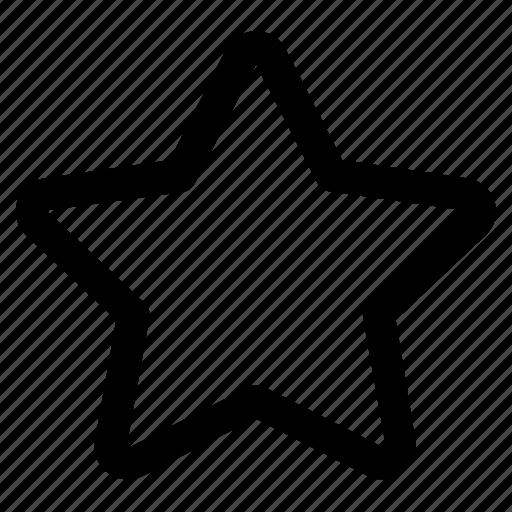 app, interface, internet, star, user, web icon