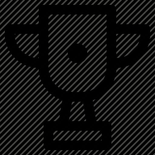 app, interface, internet, trophy, user, web icon