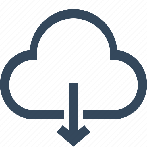 cloud, cloud download, download, download from cloud, downloading icon