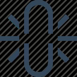 broken, broken chain, broken link, broken url, link, unlink icon