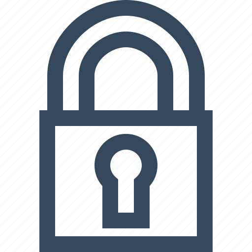 lock, private, protected, protection, secured, security icon