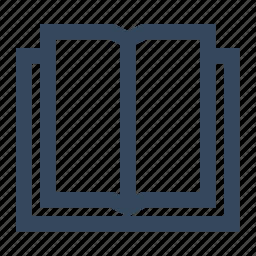 book, open book icon