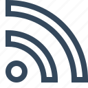 feed, rss, rss feed icon